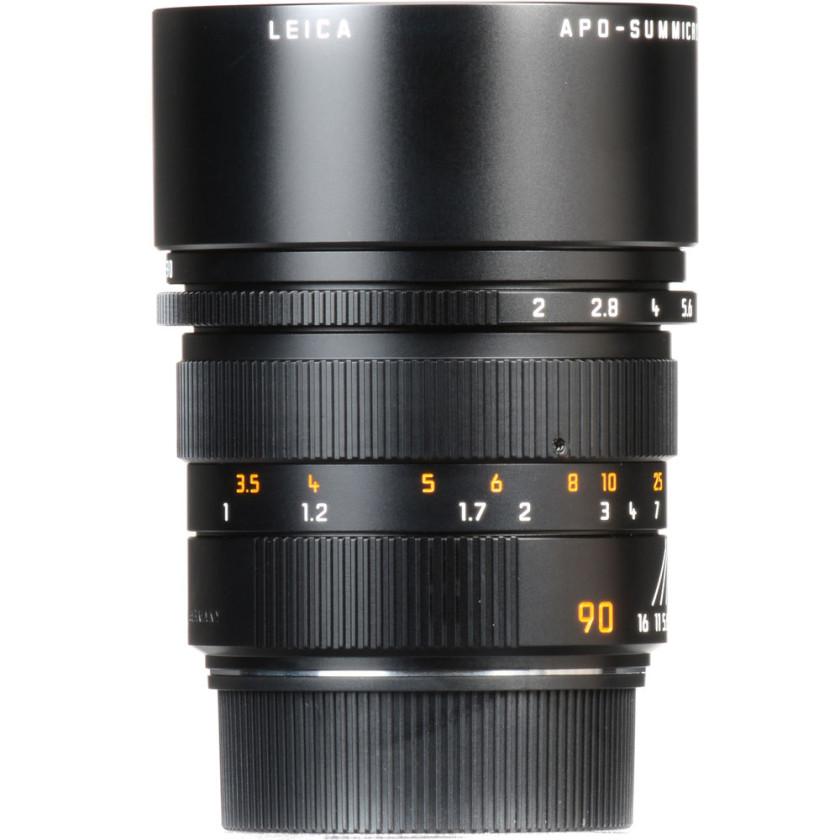 Объектив Leica APO-Summicron-M 90 мм, f/2, ASPH, черный, анодированный