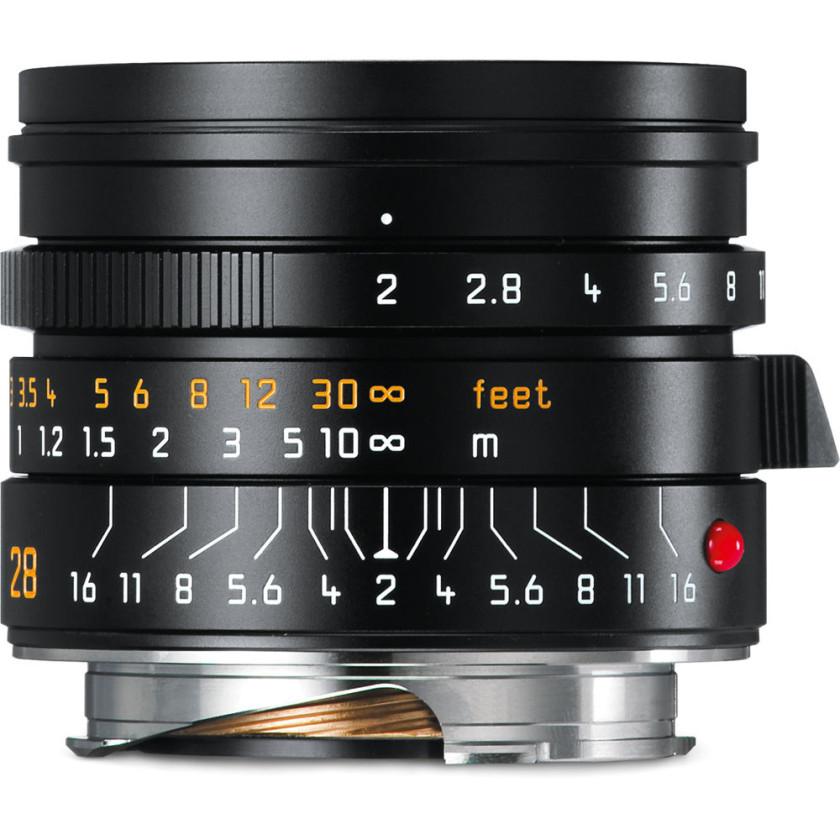 Объектив Leica Summicron-M 28 мм, f/2, ASPH, черный, анодированный