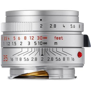 Объектив Leica Summicron-M 35 мм, f/2, ASPH, серебристый хром, анодированный