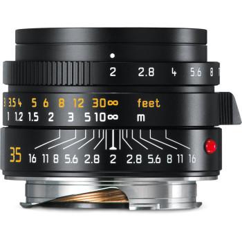Объектив Leica Summicron-M 35 мм, f/2, ASPH, черный, анодированный