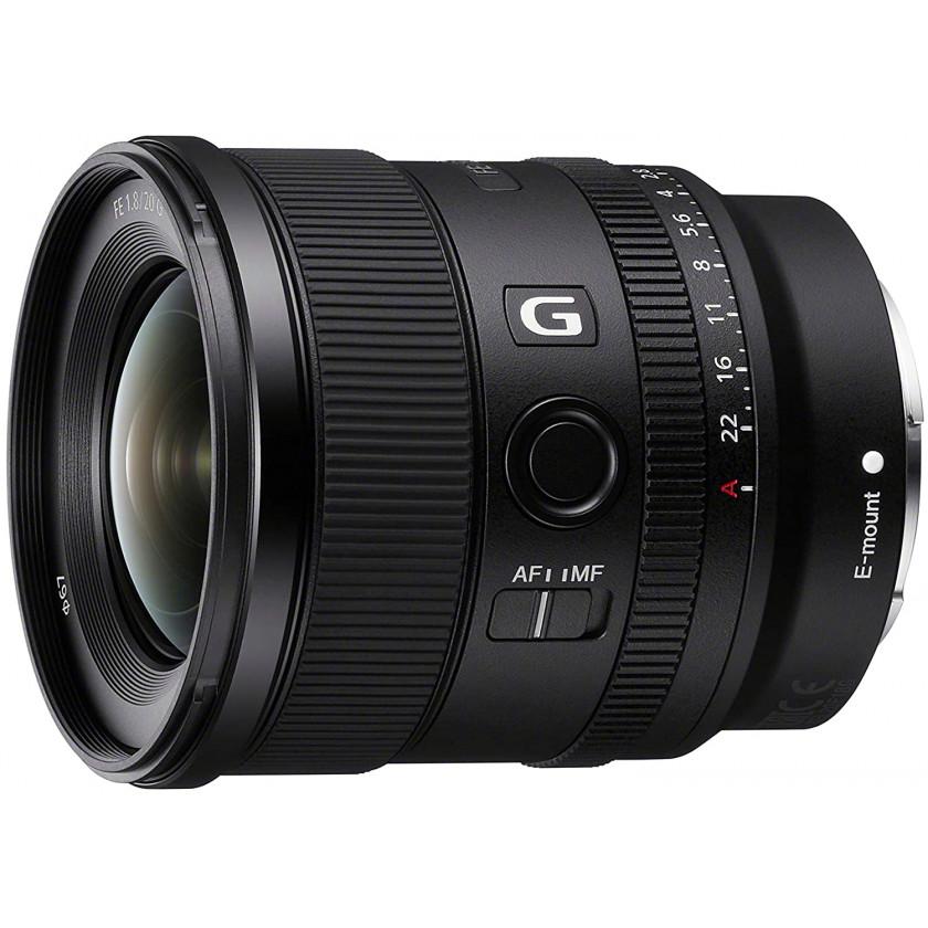 Объектив Sony FE 20mm f/1.8 G
