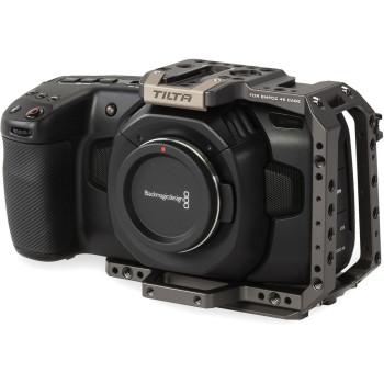 Клетка Tilta Half Camera Cage для BMPCC 4K/6K Tactical Finish