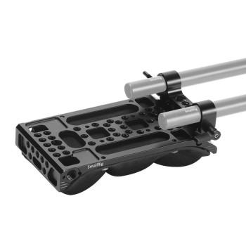 Плечевой упор SmallRig Universal Shoulder Pad with 15mm RailBlock 2077