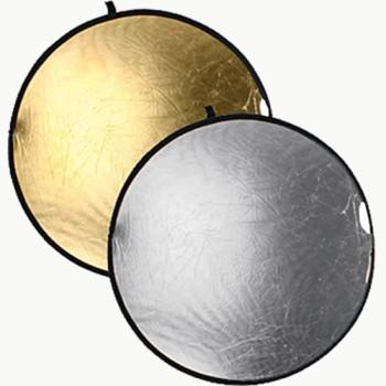 Отражатели Raylab RRF-80 золотистый/серебристый