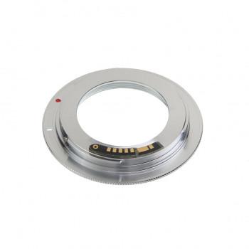 Переходное кольцо Falcon Eyes M42 на Canon EOS с чипом