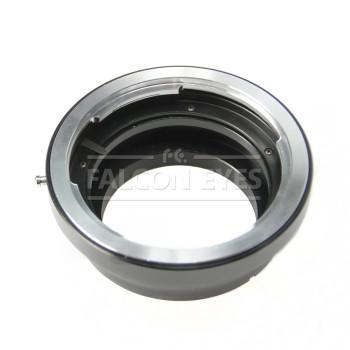 Переходное кольцо Falcon Eyes Pentax 645 на Canon EOS