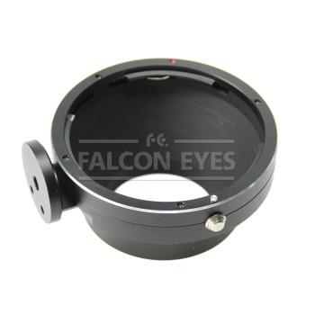 Переходное кольцо Falcon Eyes Pentax 67 на Canon EOS