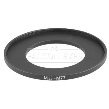 Кольцо переходное Falcon Eyes для макровспышки 55-77 мм