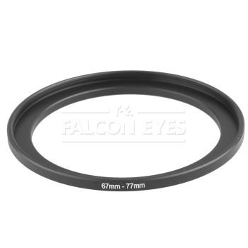 Кольцо переходное Falcon Eyes для макровспышки 67-77 мм