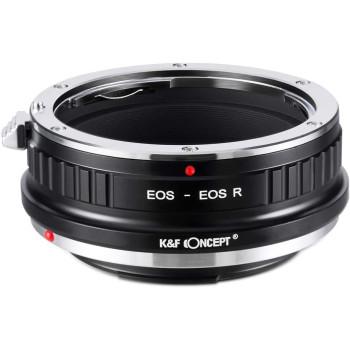 Переходное кольцо K&F Concept для объектива Canon EF на Canon R KF06.383