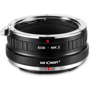 Переходное кольцо K&F Concept для объектива Canon EF на Nikon Z KF06.367