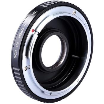 Переходное кольцо K&F Concept для объектива Canon FD FL на Canon EF KF06.082