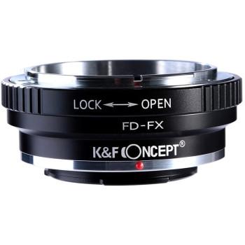 Переходное кольцо K&F Concept для объектива Canon FD на X-mount KF06.108