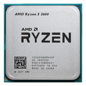 Процессор AMD Ryzen X6 R5-2600 SAM4 OEM 65W 3400 YD2600BBM6IAF
