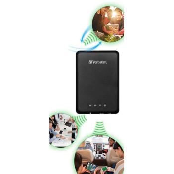 Многофункциональное устройство Verbatim MediaShare USB/micro USB, SD, Wi-Fi, 3000mAh