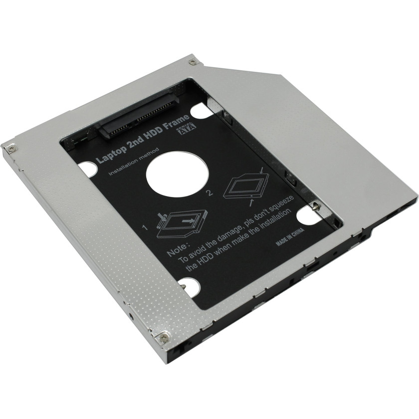 Салазки HDD Espada SS95 dvd slim 9.5 mm to hdd (mini sata to sata)