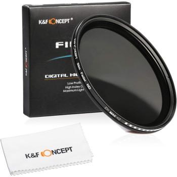 Светофильтр K&F Concept 62 mm ND2-400 KF01.066 (16422) нейтральный