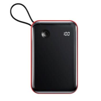Внешний аккумулятор Baseus Mini S 3A 10000мАч (Type-C кабель) Красный