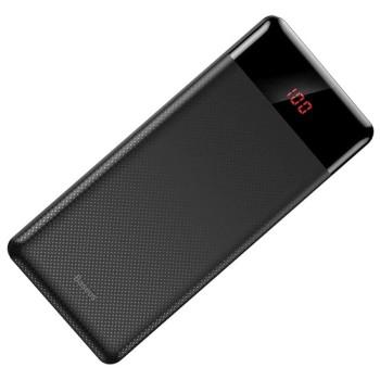 Внешний аккумулятор Baseus с дисплеем Mini Cu 10000mAh Чёрный