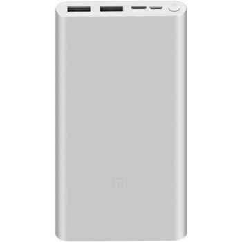 Внешний аккумулятор Xiaomi Mi Power Bank 3 10000 silver (10000mAh, 18W, USB) (VXN4273GL)