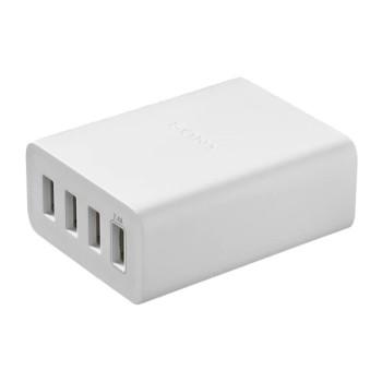 Зарядное устройство Sony AC/USB адаптер 4 порта USB A-micro CP-AD2M4WC