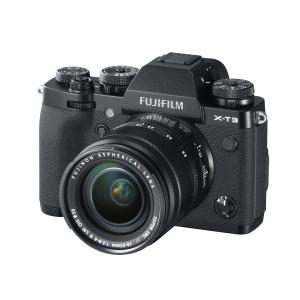 Выпуск новейшей модели беззеркальной цифровой камеры - Fujfilm X-T3