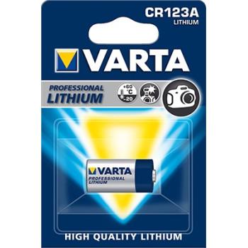 Батарея литиевая Varta CR123A  3V