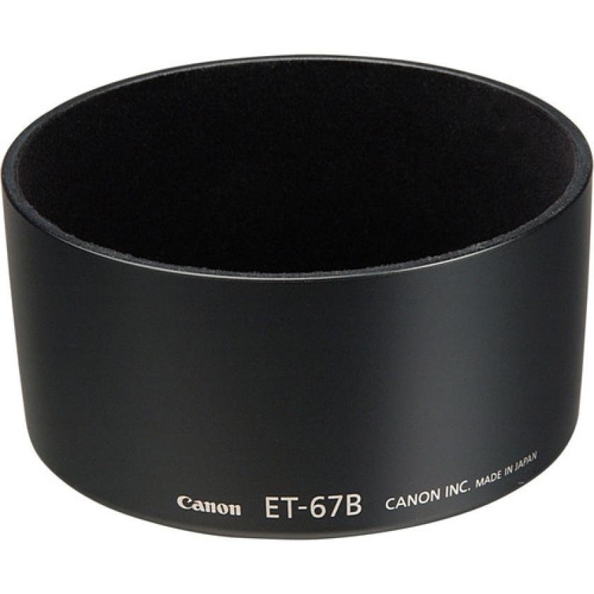Бленда Flama ET-67B для Canon EF-S 60 mm /2.8 Macro USM