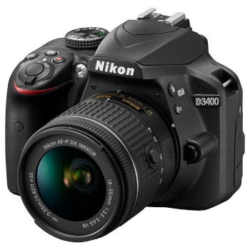 Фотокамера Nikon D3400 Kit AF-P 18-55mm f/3.5-5.6G