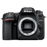 Фотокамера Nikon D7500 черный 20.9Mpix 3.15