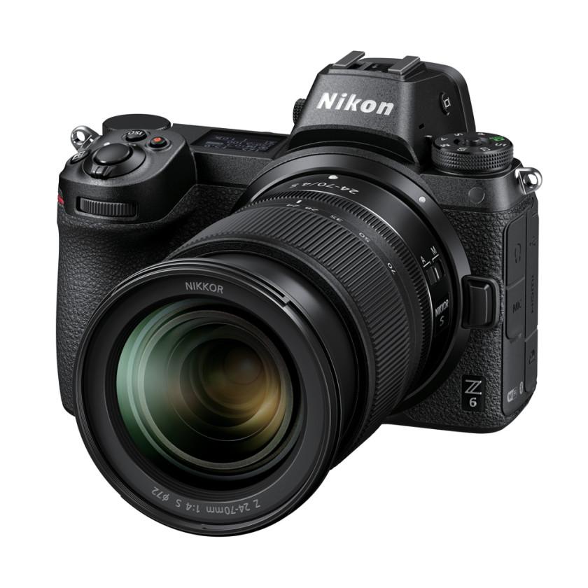 Фотокамера Nikon Z6 Kit 24-70mm F4 S + FTZ