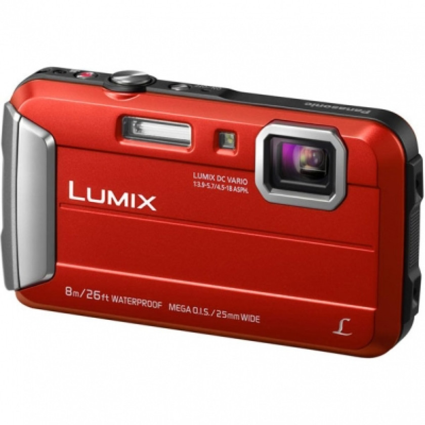 Фотокамера Panasonic Lumix DMC-FT30 red (DMC-FT30EE-R)