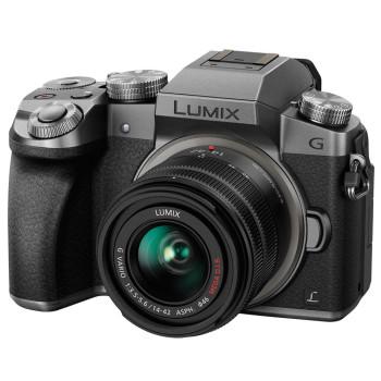 Фотокамера Panasonic Lumix DMC-G7 Kit 14-42mm silver (DMC-G7KEE-S)