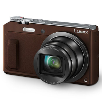 Фотокамера Panasonic Lumix DMC-TZ57 brown (DMC-TZ57EE-T)