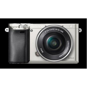 Фотокамера Sony Alpha ILCE-6000LS Kit 16-50mm silver