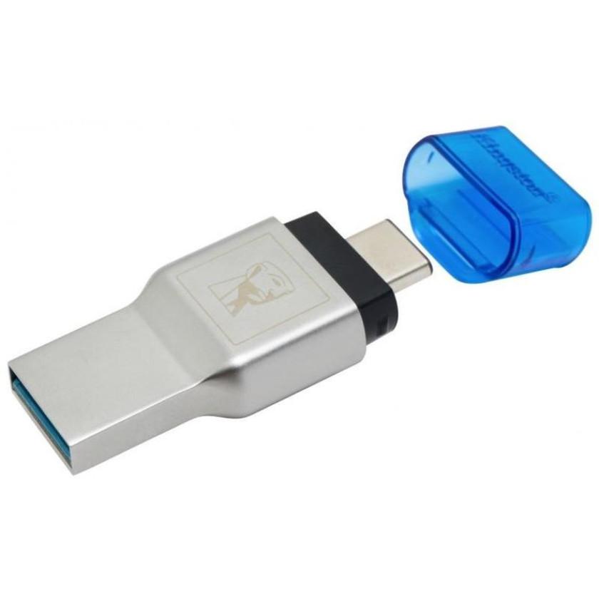 Адаптер карт памяти Kingston MobileLite Duo 3C  USB3.1+Type-C