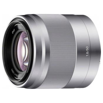 Объектив Sony 50mm f/1.8 OSS (SEL50F18) silver