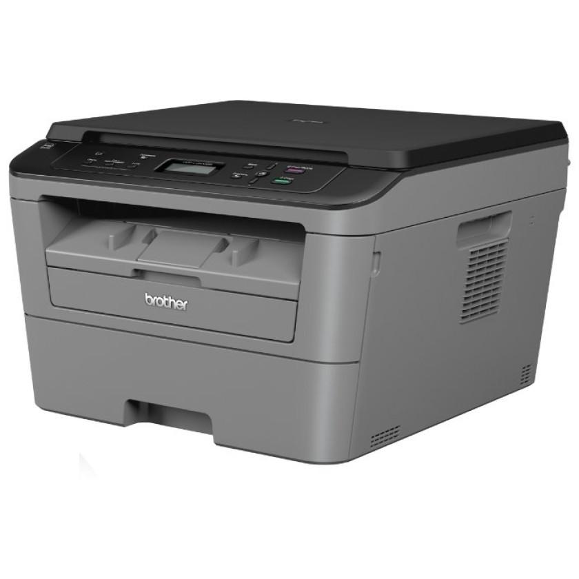 МФУ Brother DCP-L2500DR лазерный принтер/сканер/копир, A4, 26 стр/мин, 2400x600 dpi, 32 Мб, дуплекс, подача: 251 лист., вывод: 100 лист., USB, ЖК-панель (старт.к-ж 700 стр)