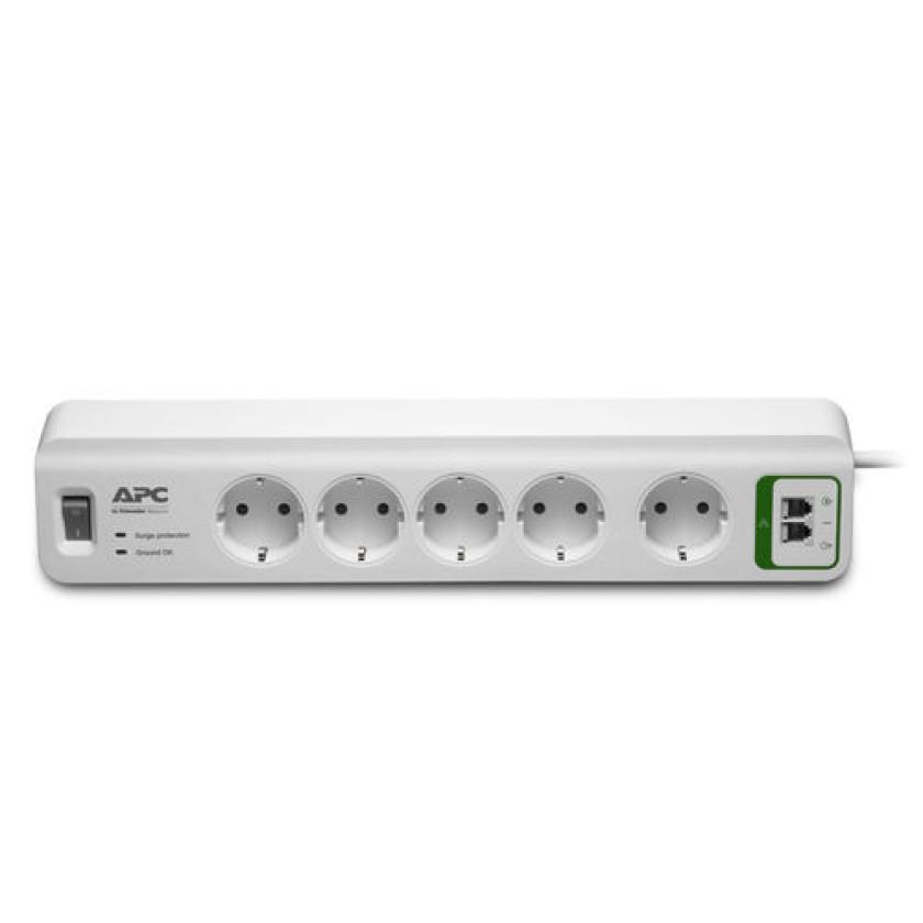 Сетевой фильтр APC PM5-RS 1.83м (5 розеток) белый