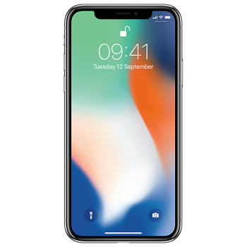 Смартфон Apple iPhone X 256GB Silver (MQAG2RU/A)